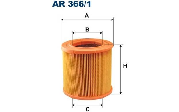 Luftfilter FILTRON AR366//1