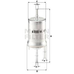 Φίλτρο καυσίμου - WK 69