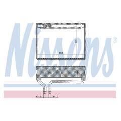 Εξαεριωτής, σύστημα κλιματισμού NISSENS - 92186