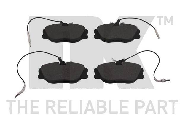 NK 221941 kit de plaquettes de frein frein /à disque