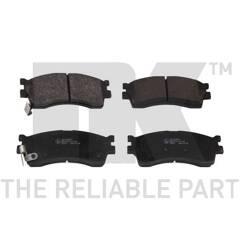 KIA Sephia Set 2 disques de frein 4 plaquette de frein avant la Construction Essieu Avant