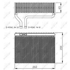 Εξαεριωτής, σύστημα κλιματισμού NRF - 36099